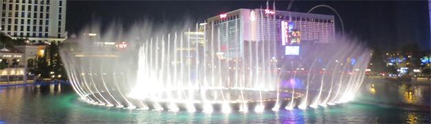 Las Vegas - Wasserspiele Bellagio